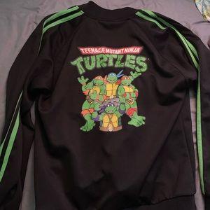 Ninja Turtles athletic tracksuit zipper jacket